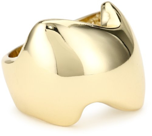 Jules Smith Yellow Gold Lucky Strike Ring, Size 8