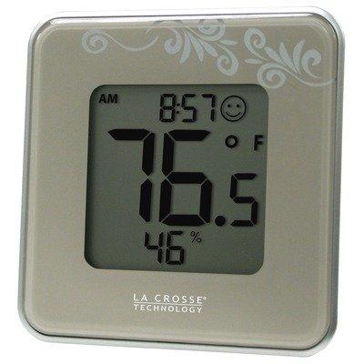 La Crosse Technology 302-604P Digital Thermometer & Hygrometer Station, Purple from La Crosse Technology