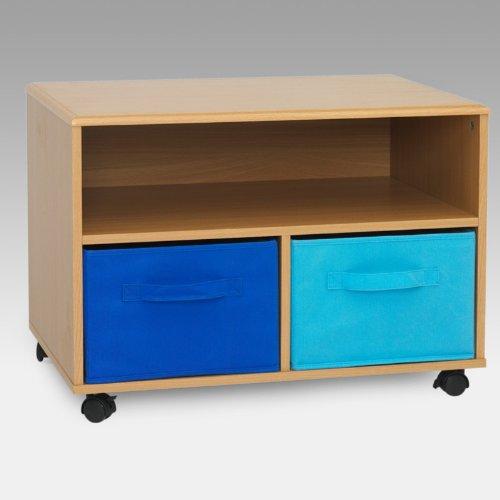 Cheap 4D Concepts TV Stand – Blue (B005TVM1G6)