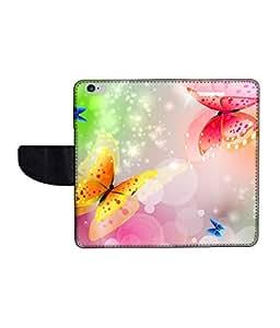 KolorEdge Printed Flip Cover For Apple IPhone 6 -Multicolor (47KeMLogo11211IPhone6)