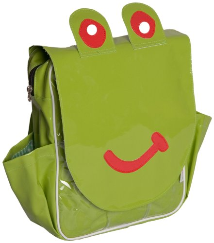 Minene Animal Themed Child Backpack Bag Frog (Green)