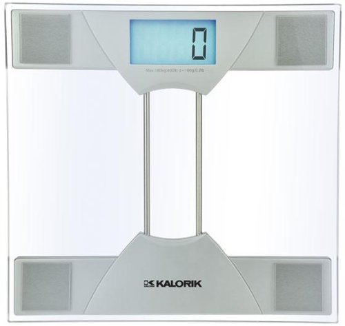 Electronic Bathroom Scale, 1.63Hx11.88Wx12, SILVER