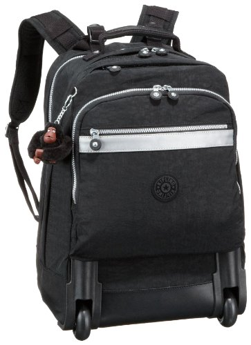 Kipling Women's New Runner L Wheeled Backpack Black K09409900
