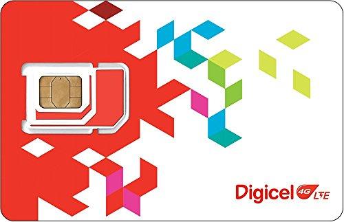 Digicel Standard/Micro SIM Card for Jamaica (Digicel Top Up compare prices)