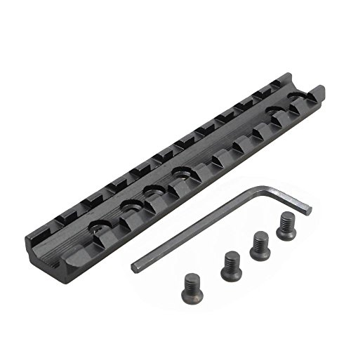 Tactical 11 Slots Picatinny/Weaver Rail Scope Mount + Wrench (Steel Picatinny Rail Blank compare prices)