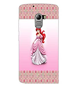 PrintDhaba Princess D-4565 Back Case Cover for LENOVO K4 NOTE A7010 (Multi-Coloured)
