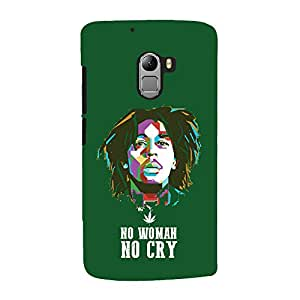 ColourCrust Lenovo K4 Note Mobile Phone Back Cover With No Woman No Cry Quirky - Durable Matte Finish Hard Plastic Slim Case