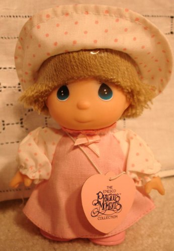 Enesco Precious Moments Collection Hi Babies Doll Pink Dress - 1