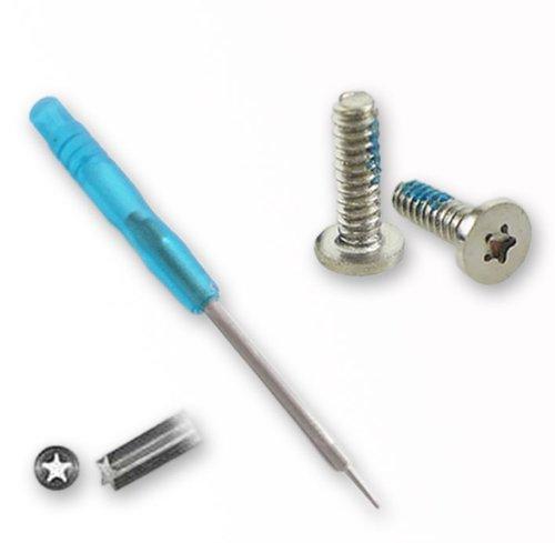 Original smartec24® iPhone 4 4S Schraubenzieher blau + 1x pentalobe Schraubenset Schraubendreher 5-Stern Pentalobe Torx Scout Werkzeug