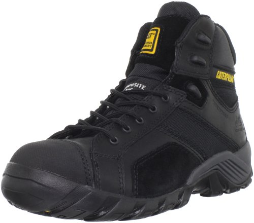 Caterpillar Men's Argon Hi P90090 Work Boot,Black,10 M US