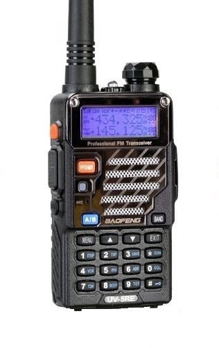 BaoFeng UV-5RE (USA Warranty) Dual-Band 136-174/400-520 MHz FM Ham Two-way Radio, Transceiver, HT