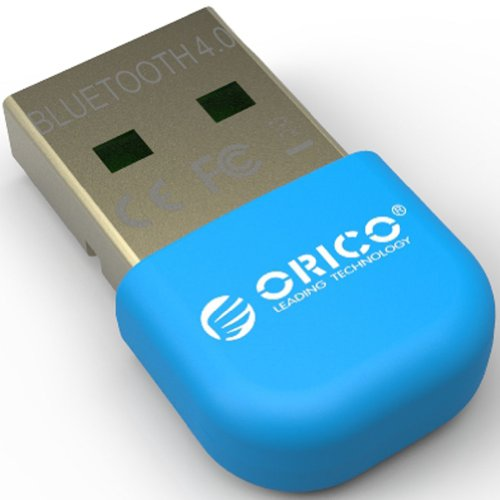 Orico Bta-403 Usb Bluetooth 4.0 Low Energy Micro Adapter Windows 8, 7, Xp, Linux Compatible Classic Bluetooth And Stereo Headset Compatible - Blue