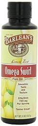 Barlean\'s Lemon Zest Fish Oil Swirl, 8-Ounce