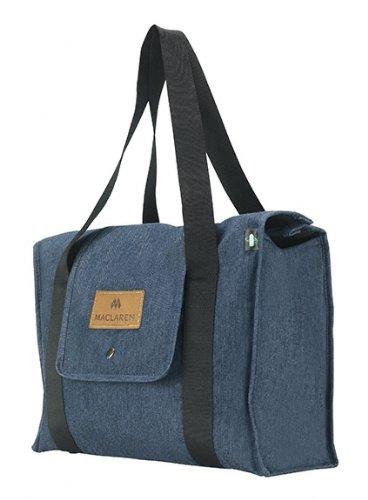 Maclaren - Sac à Langer Park Bag Indigo Denim