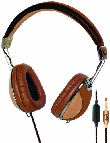Lethal Audio Digital Stereo Headphones - Brown