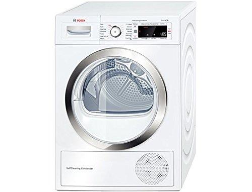 Bosch WTW87560GB 9kg Freestanding Heat Pump Condenser Tumble Dryer White