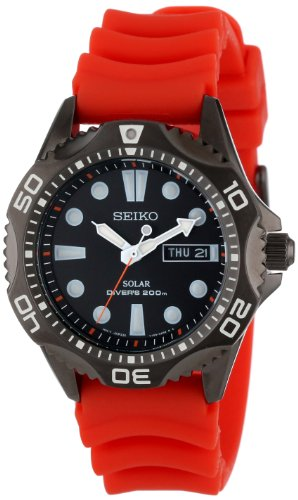 Seiko Men's SNE245 Solar Dive Japanese Quartz Dive Watch