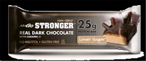 Nugo Nutrition Stronger Bar, Real Dark Chocolate, 2.82 Ounce