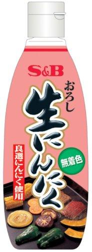 S&B おろし生にんにく(無着色) 290g
