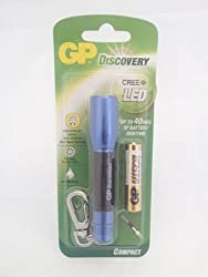 Godrej GP Discovery LED Torch with 1 x AAA Alkaline Battery (Single unit)