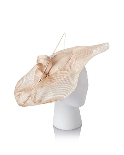 Emma B Women's Sinamay Platter Fascinator, Natural