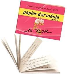 La Rose Burning Papers 12 sheets by Papier d\'Armenie