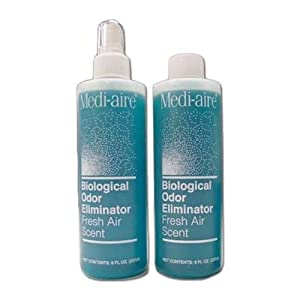 MediAire Biological Odor Eliminator by Bard Medical (MediAire 8oz Spra by Bard
