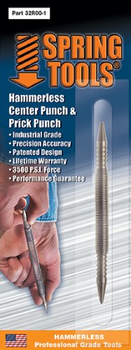Spring Tools 32r00-1 Two Bit Snapper Prick Punch & Center Punch (Ridged Hammer Drill compare prices)