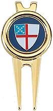 Golf Divet Tool - Episcopal Shield