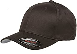 6277 Flexfit Wooly Combed Twill Cap - XXLarge (Brown)