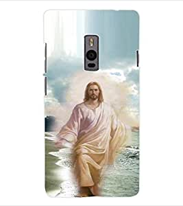 ColourCraft Lord Jesus Back Case Cover for ONEPLUS TWO
