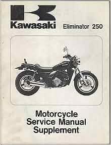 Kawasaki Eliminator Vn Service Manual