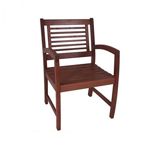 Armsessel MADISON Sessel Holz Gartenstuhl Stuhl Eukalyptus Gartenmöbel bestellen