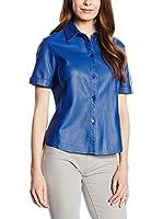 Trussardi Jeans Camisa Mujer (Azul Eléctrico)