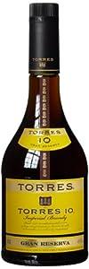 Torres 10 Gran Reserva Brandy 70cl 40% ABV
