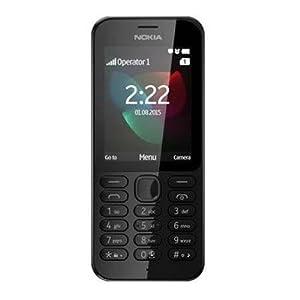 Microsoft Nokia 222 2.4-Inch SIM-Free Mobile Phone - Black