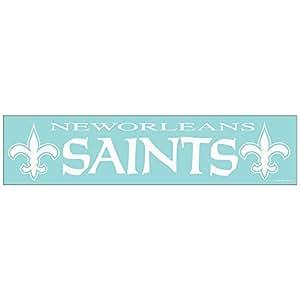Old Glory New Orleans Saints Name & Logo Cut Out Home Décor