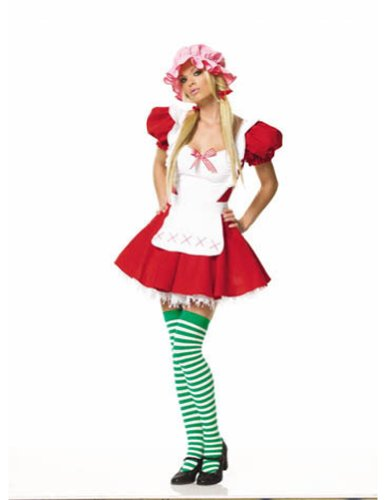 Red Hot Riding Hood Sm Halloween Costume - Adult Small