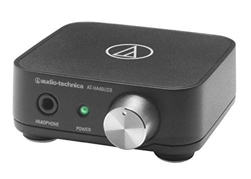 Audio-Technica Usb Headphone Amplifier Corresponding At-Ha40Usb 24Bit/96Khz [ Japan Imports ]