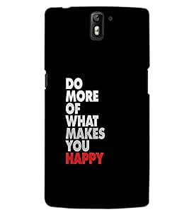 ONE PLUS ONE DO MORE Back Cover by PRINTSWAG