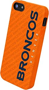 Forever Collectibles Denver Broncos Team Logo Silicone Apple iPhone 5 & 5S Case by Forever Collectibles