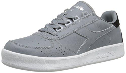 Diadora Men's B.Elite P.L. Court Shoe, Ash Grey, 11 M US