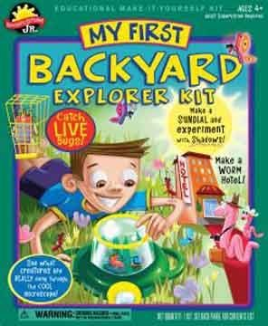 Scientific Explorer Backyard Explorer Kit Science Kit