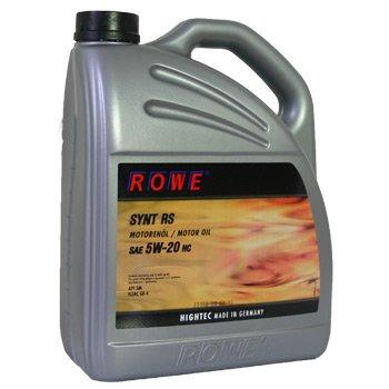 5 Liter SAE 5W-20 SYNT RS von ROWE - Motoröl