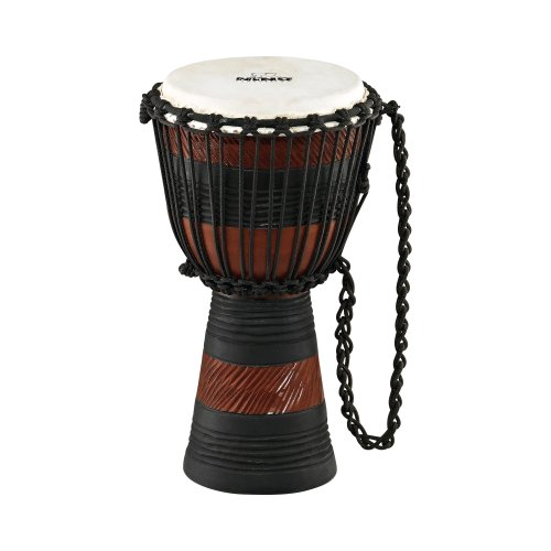 NINO African Style Rope Tuned Djembe 8-Inch Small Earth SeriesB001D4MWAS