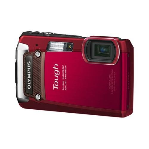 Olympus TG-820 12MP Shock/Water/Freeze-Proof Camera-Red (Old Model) (Olympus Waterproof Digital Camera compare prices)