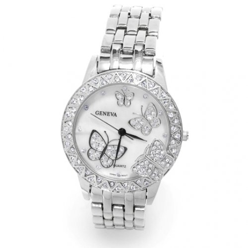 Bling Jewelry Stainless Steel Classic Butterfly Fashion Watch