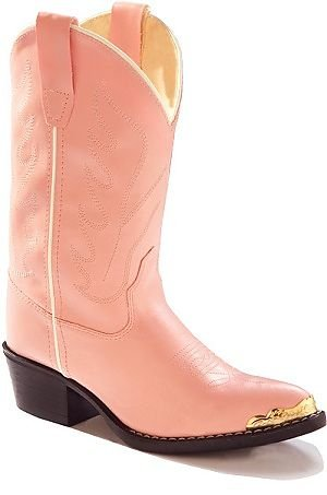 Old West Girls' Cowgirl Boot
