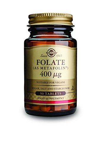 Solgar Vita Metafolic Integratore Alimentare di Folato - 50 Tavolette