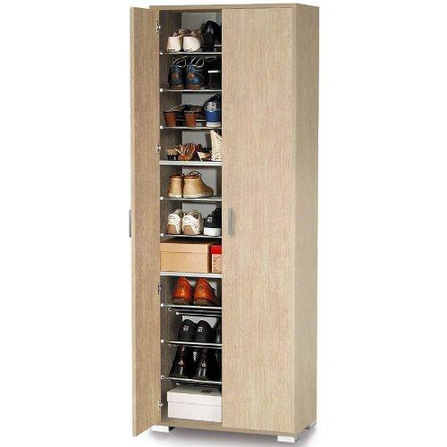 Kurangana shop scarpiera armadio colonna acero 2ante con for Armadio 8 ante mondo convenienza
